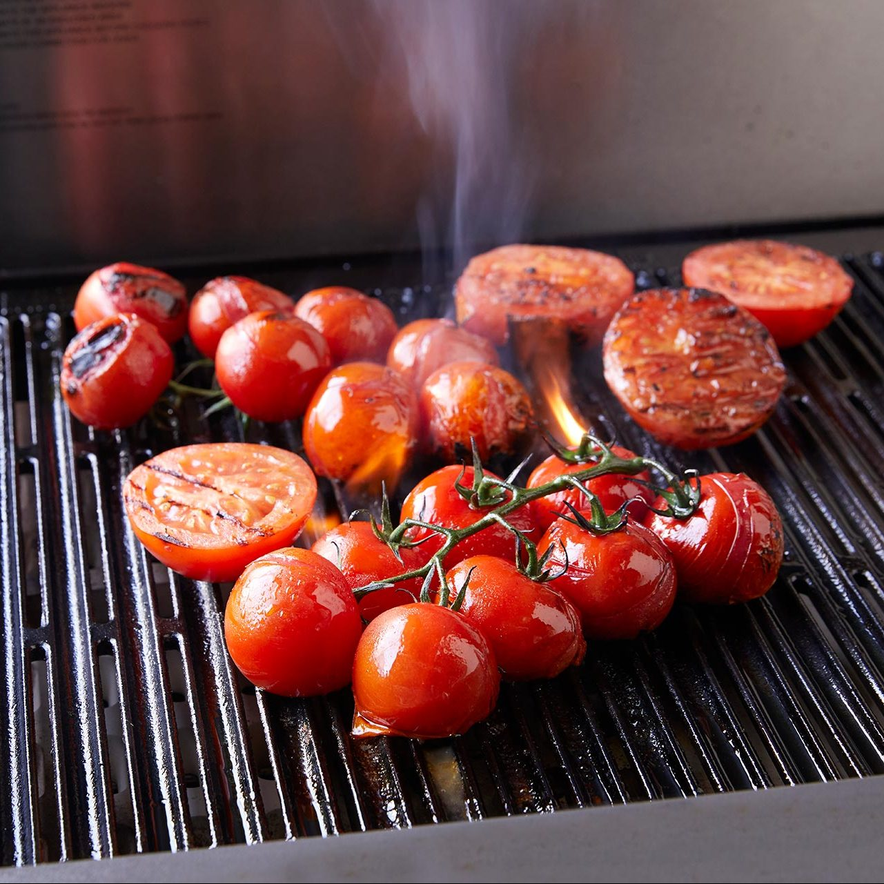 Blush Tomatoes on the BBQ