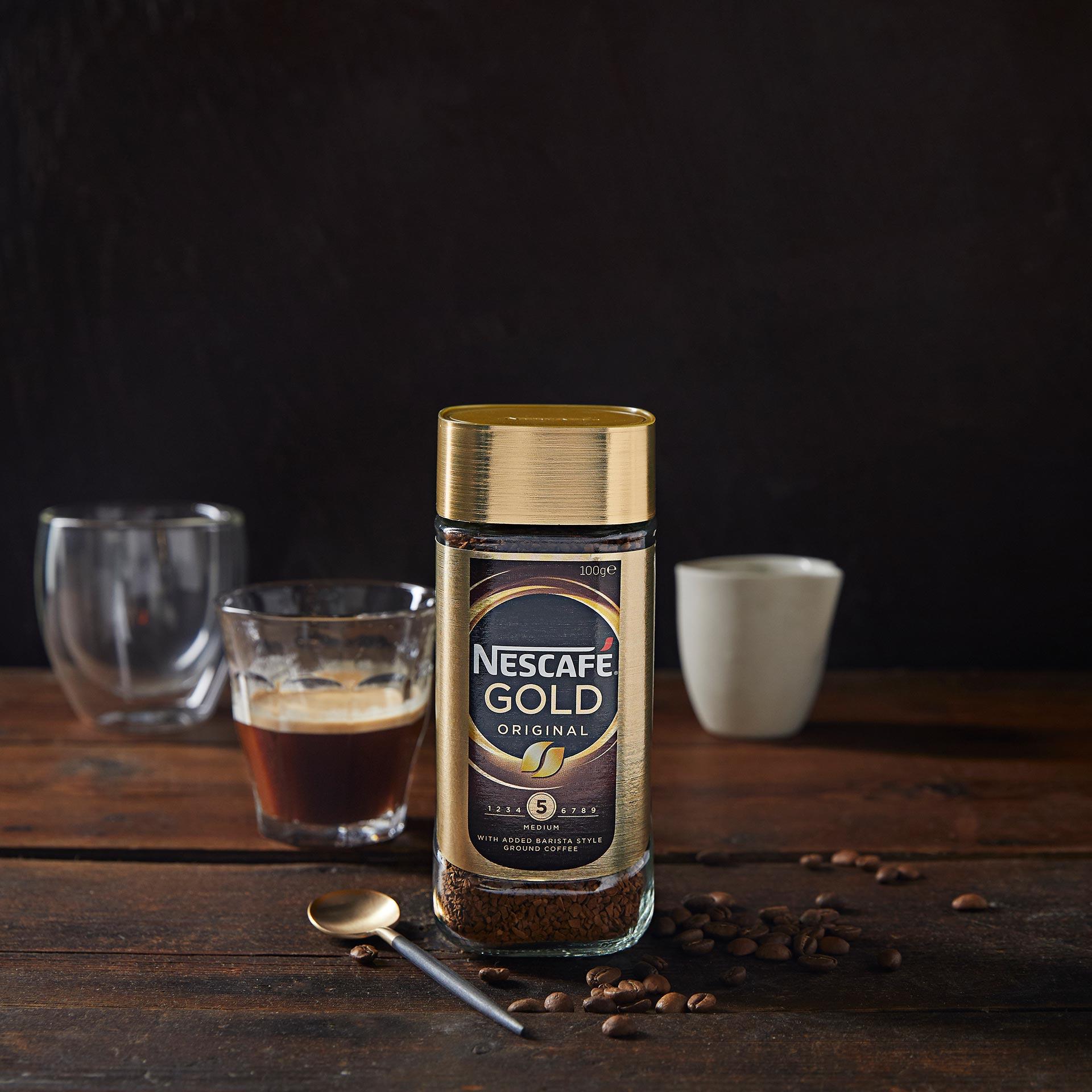 Nescafe GOLD 100gm Next to Espresso