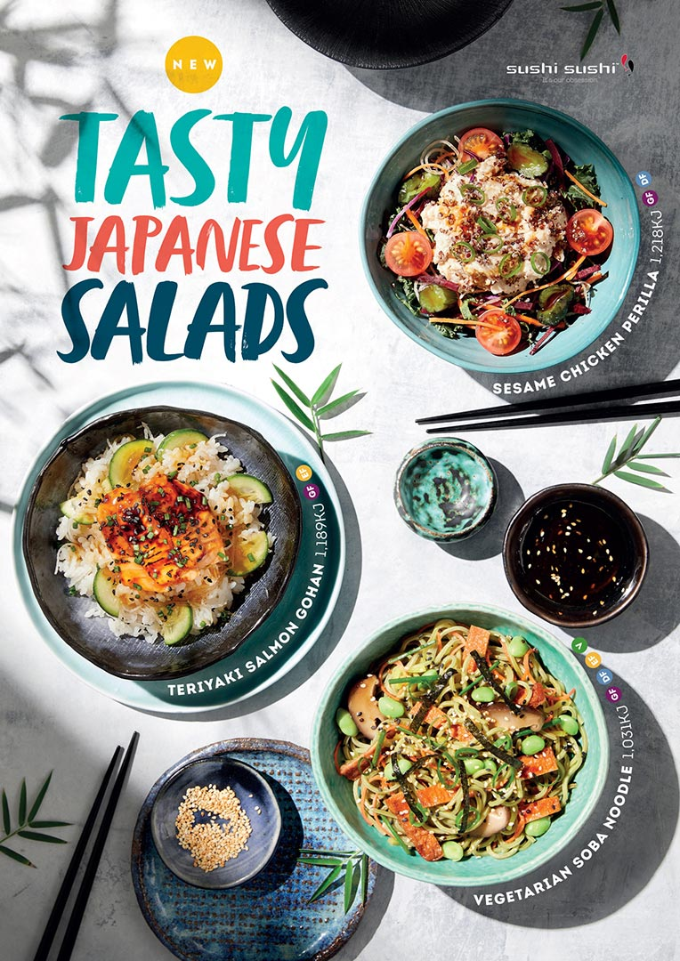 Sushi Sushi Summer Salads