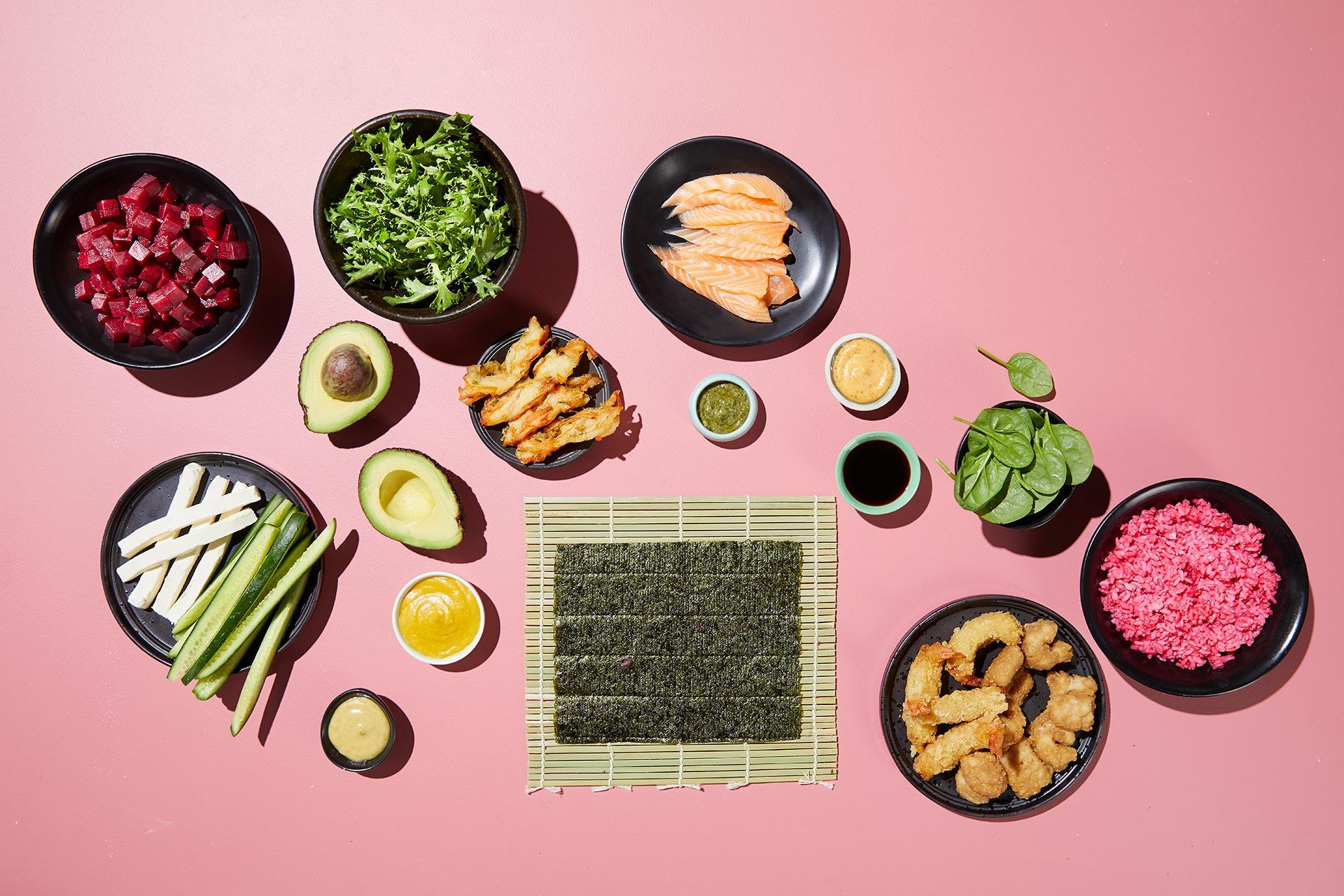 SushiSushi Build Your Own Ingredients