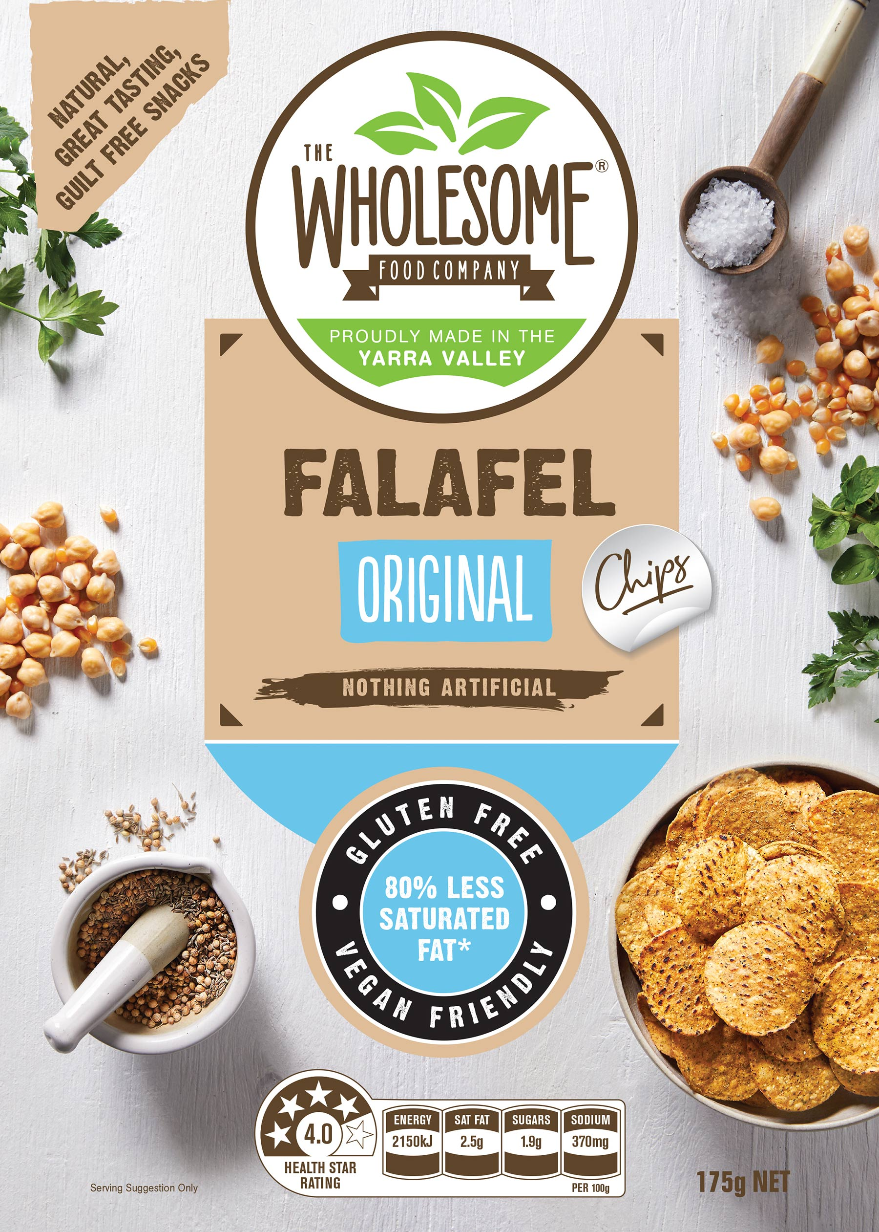 Falafel Chips Original