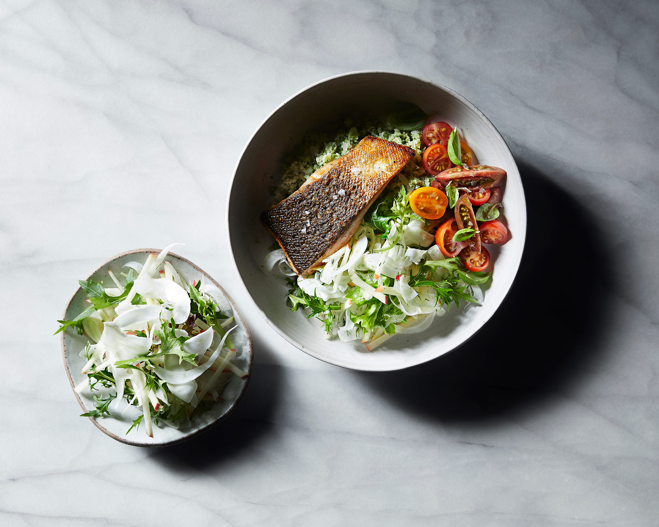 Salmon Salad Bowl