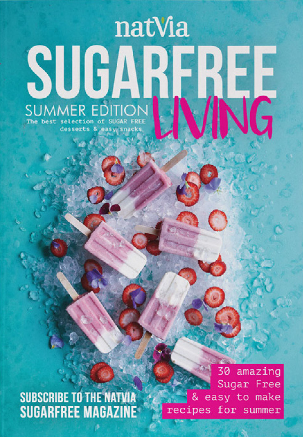 Sugar Free Magazine Cover Summer 18