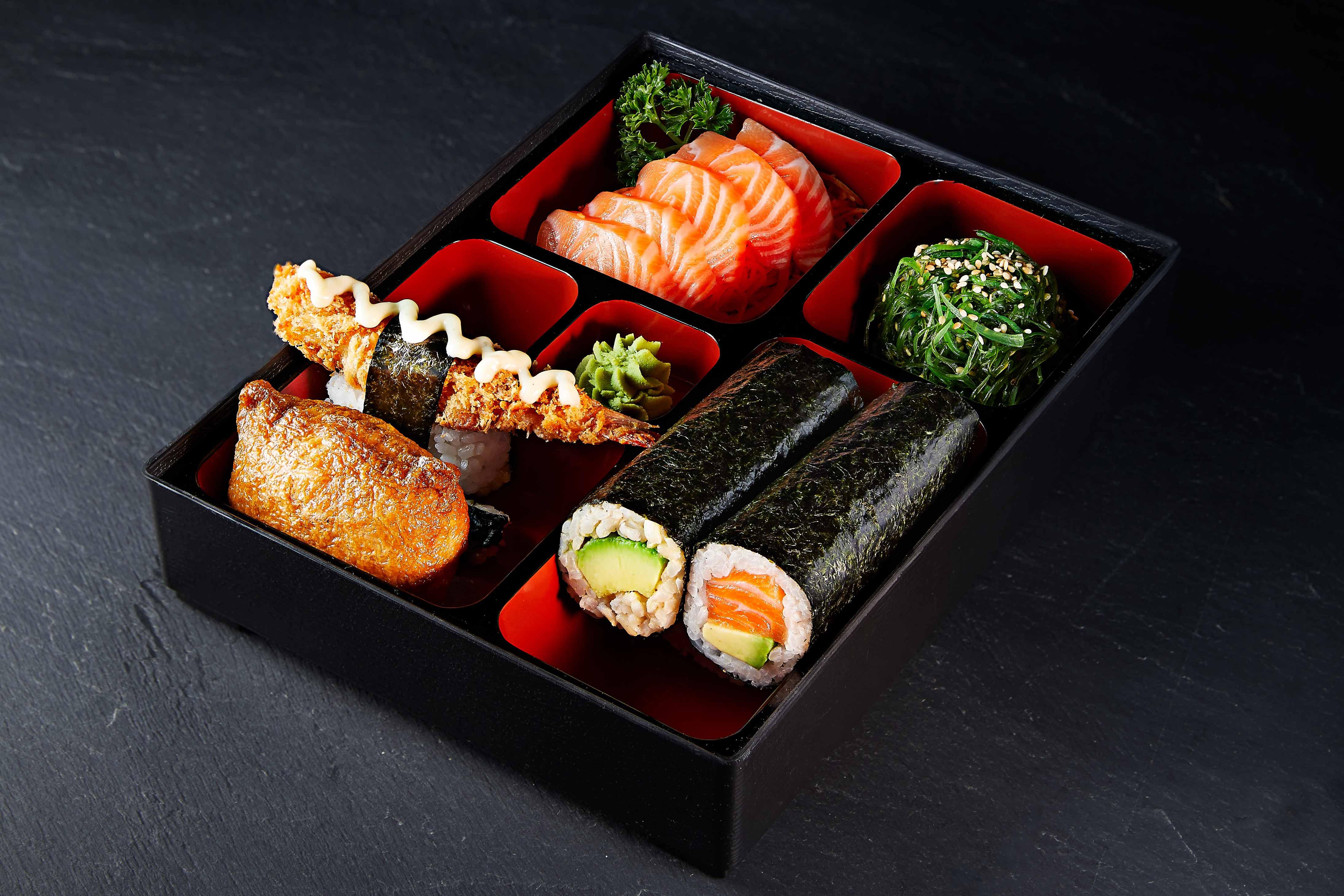 Bento Box from Sushi Izakaya