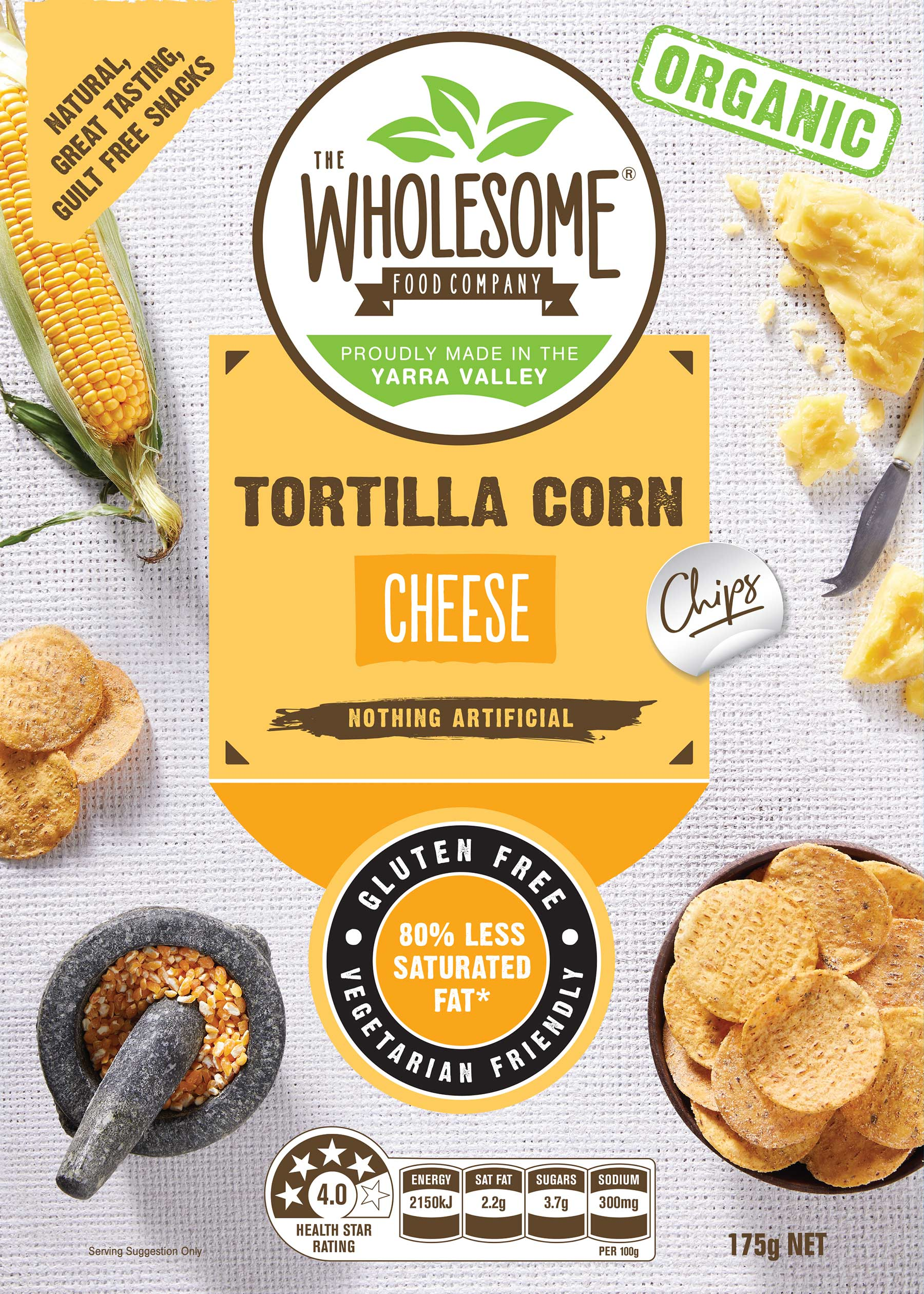 Tortilla Corn Chips Splendid Cheese