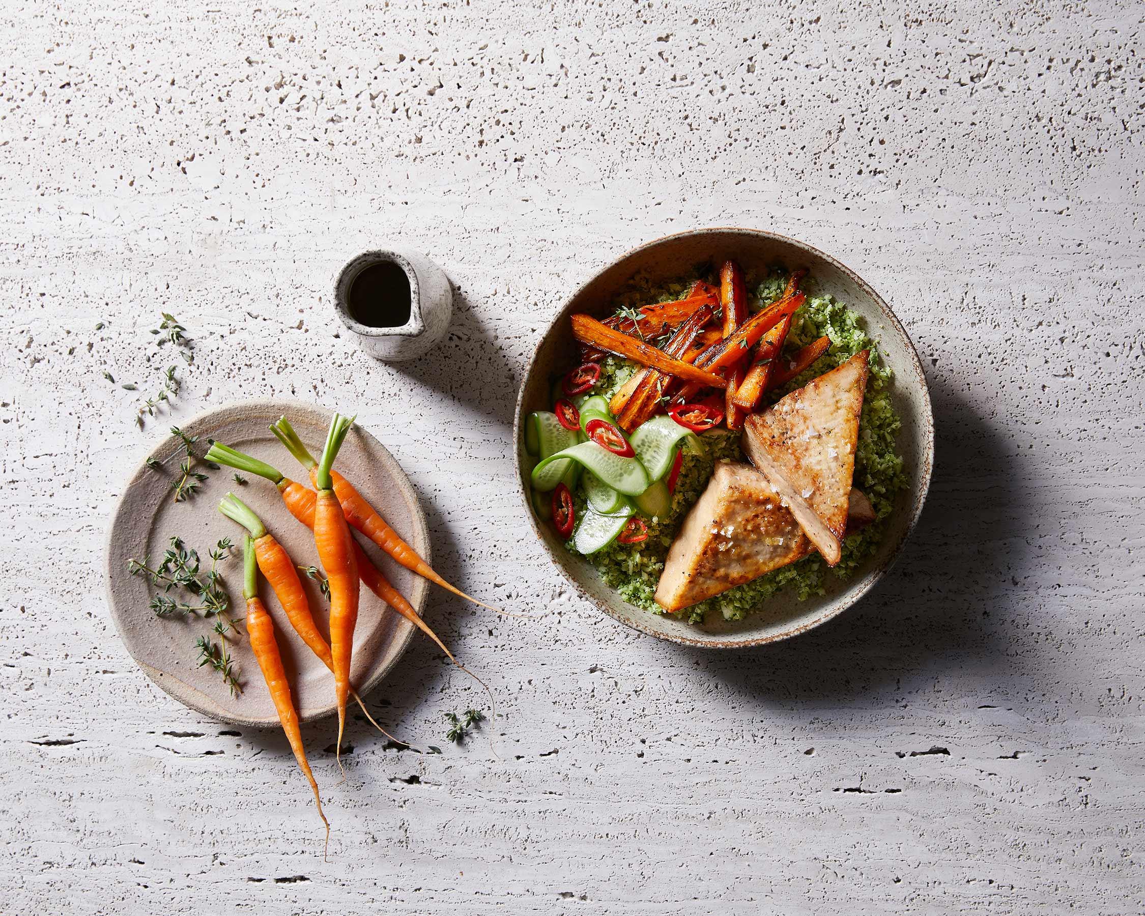 surch broccoli rice tofu