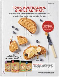 Bega-Simply-Nuts-Aussie-Coles-Magazine-Peanutbutter-Toast-Honey-blueberries
