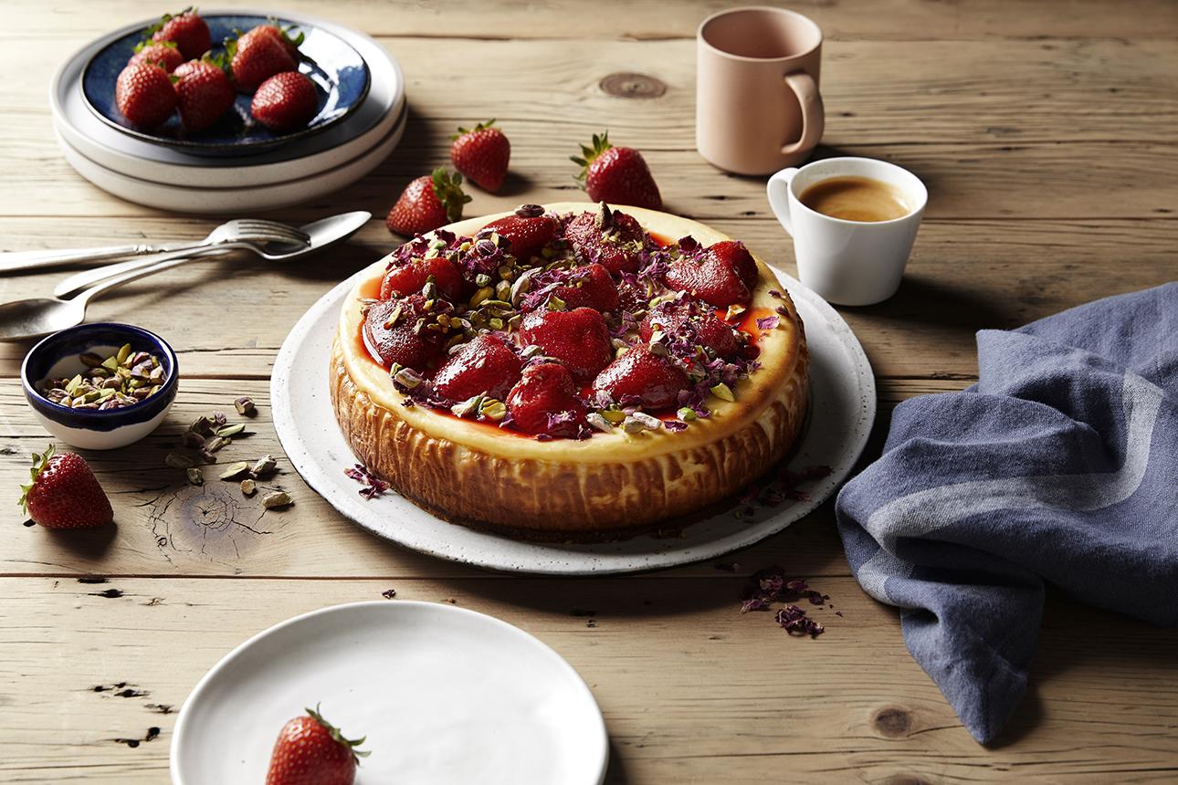 cake photography fruit