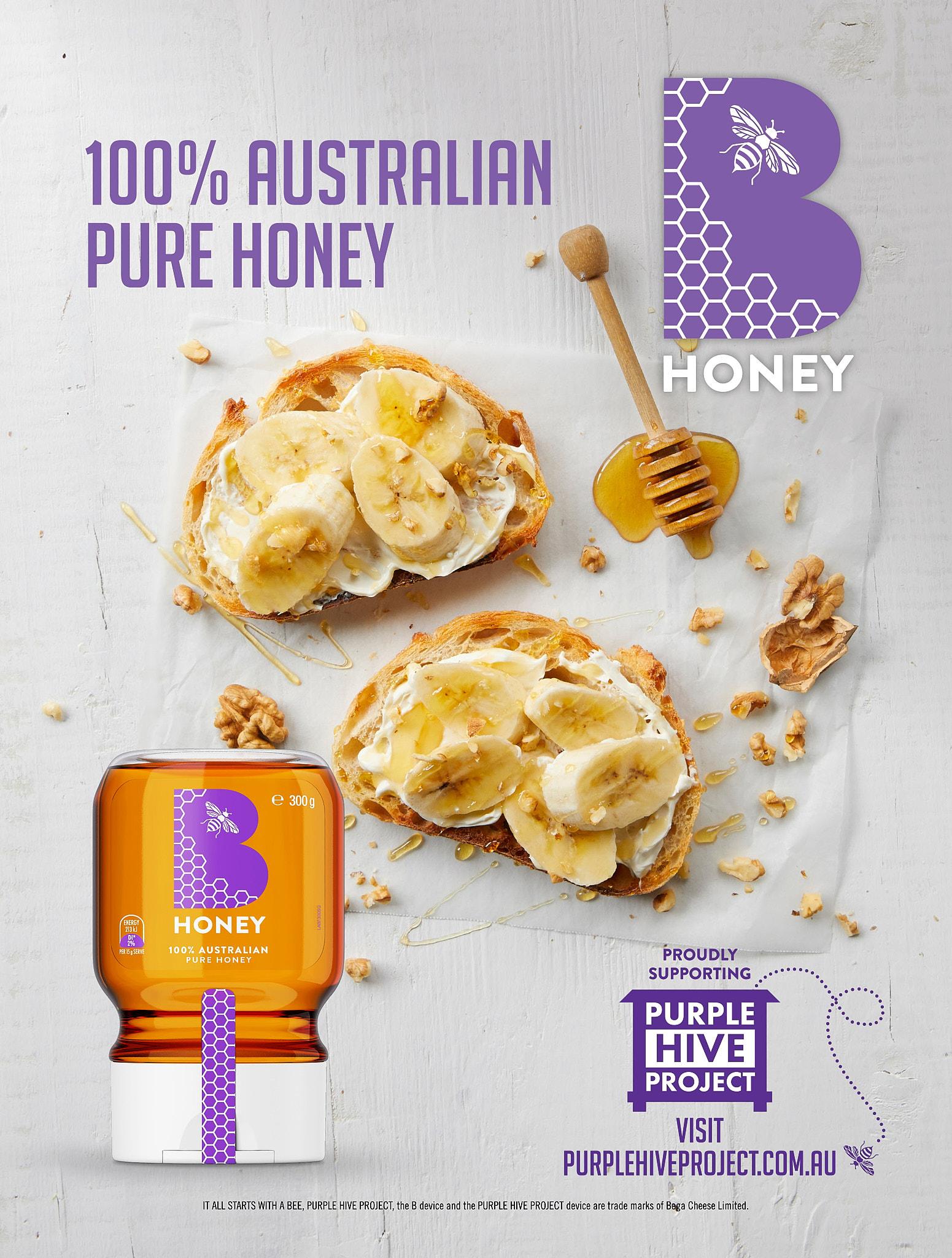 B Honey 300g Ad