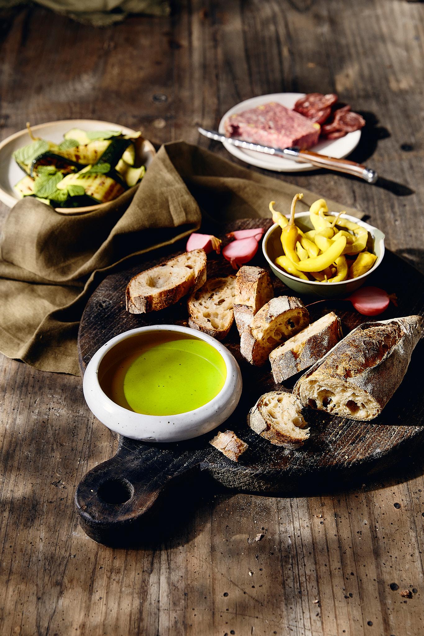Cobram Extra virgin olive oil in bowl
