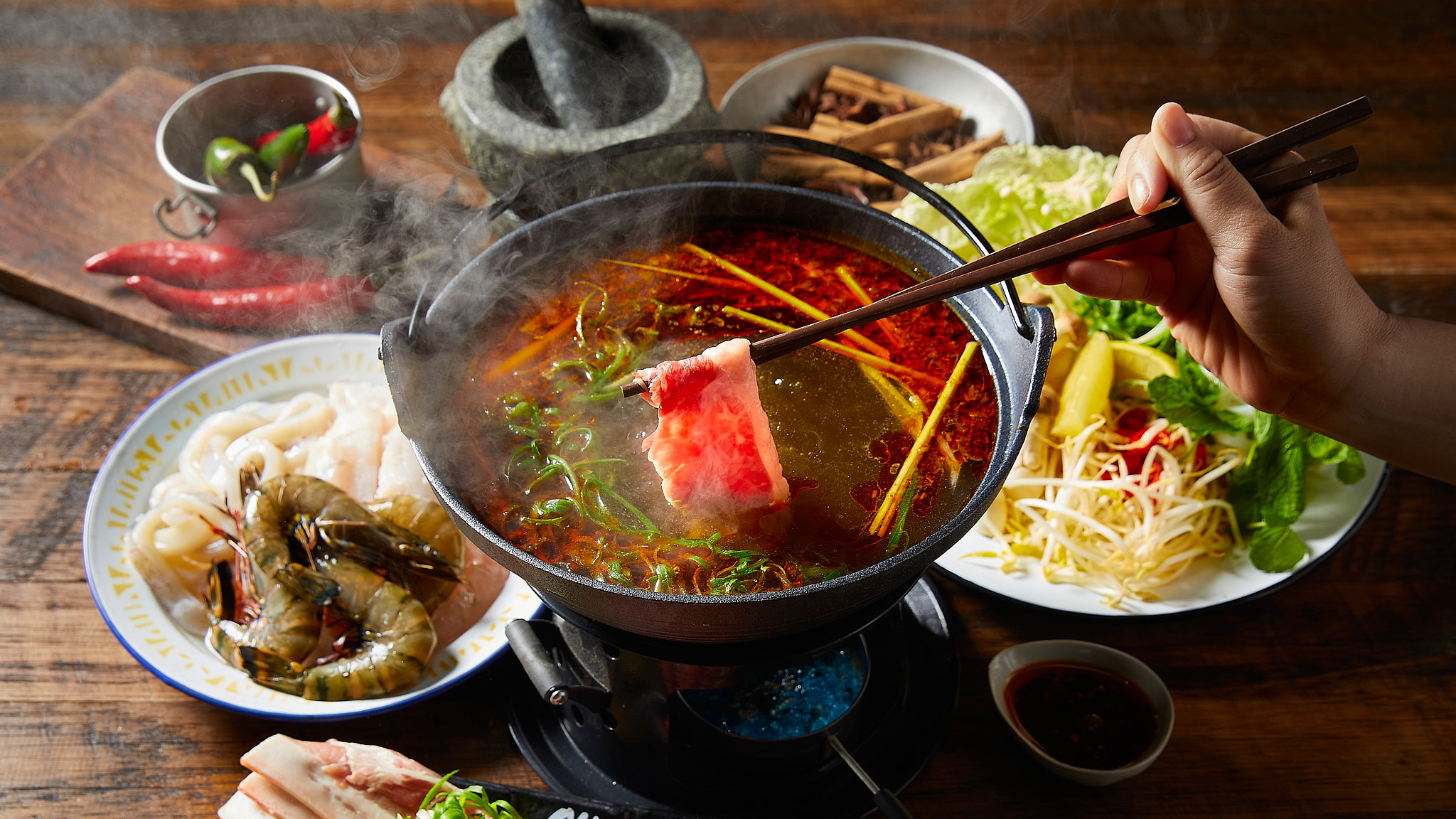 Old Man Pho Spicy Hot Pot